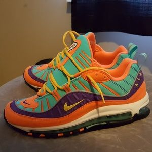 newest c5a74 9445f Nike Air Max 98 QS Cone Sz 11+ (2Extra Laces)